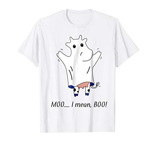 Funny & Cute Cow Boo Moo Halloween