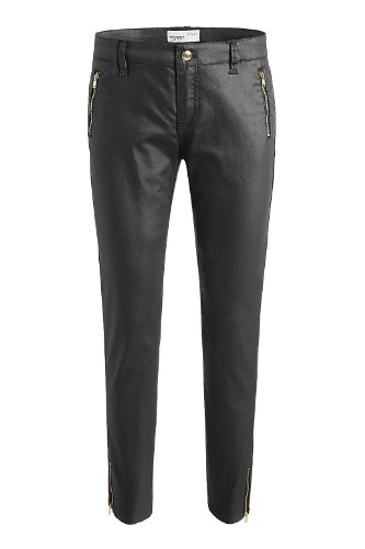 ESPRIT - Pantalón skinny / slim fit para mujer Negro 001