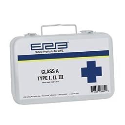 ERB Safety 28889 Ansi First Aid Kit Metal Case, 4\