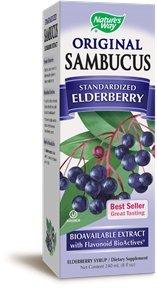 Nature's Way Sambucus Original Syrup, 8 Fluid Ounce