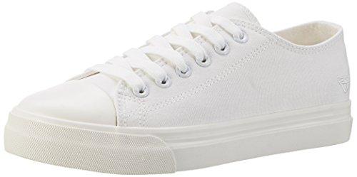 Tamaris Blanc Femme 100 Basses Sneakers WHITE 23600 gwqUr6g