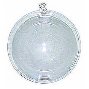 Darice Plastic Ball Oranment - 12pc - 70mm Clear by Darice (Image #1)