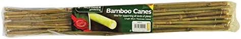 HomeZone/® Wigwam Cane Grip Support Bamboo Sticks Holder Sweet Pea Bean Plant 12 holes