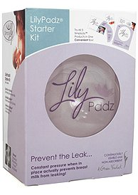LilyPadz Reusable Silicone Nursing Pads Starter Kit Double Pair Regular Size