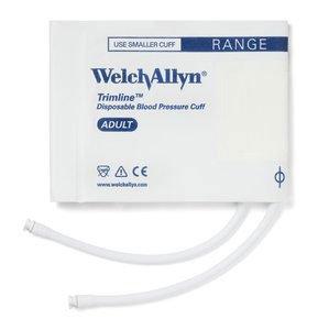 Disposable Blood Pressure Cuffs - Welch Allyn Soft Welch Allyn Trimline Disposable Blood Pressure Cuff (Adult) Box of 20