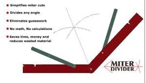 Angle Divider - Miter Divider Miter Tool