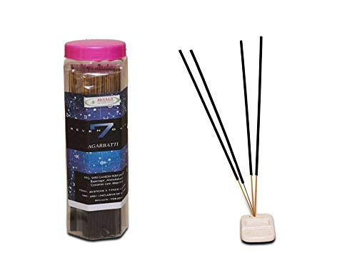 分析ポット小競り合いBETALA FRAGRANCE SEVAN DAYS incense sticks (30 sticks X 7 flavours) with incense stick holder in box. best incense stick for pooja,pantry meditation and fragrance