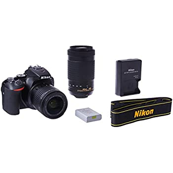 Amazon com : Nikon D5600 DSLR with 18-55mm f/3 5-5 6G VR and