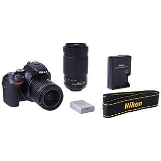 Nikon D5600 Digital SLR 18-55 mm f/3.5-5.6 G VR and AF-P DX NIKKOR 70-300 mm f/4.5-6.3 G ED (Black) 14