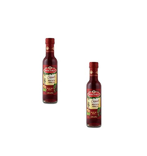 Bertolli Chianti Red Wine Vinegar 8.5 Oz (Pack of 2)
