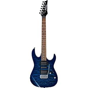 IBANEZ GIO E-Gitarre 6 String – Transparent Blue Burst (GRX70QA-TBB)