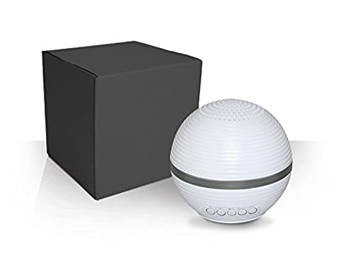 Electro BT Bluetooth Light Up LED Portable Rechargeable Speaker with Pulse Lighting 10 Mode Technology (Light Pulse Cable Aux)