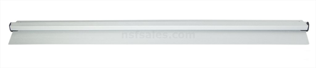 New Star Foodservice 23954 Anodized Aluminum Slide Check Rack, 44-Inch, Silver