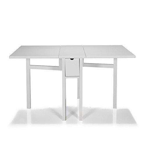 Pliante 0x80 Bimini 0x74 0 140 2 Table Blanc Alinea DH2WIE9