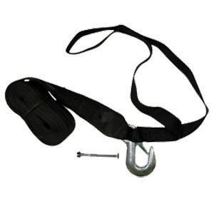 Winch Strap with Bow Loop 15FT