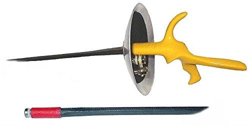 Allstar Uhlmann BF Blue FIE Maraging Fencing Foil Right Handed ()