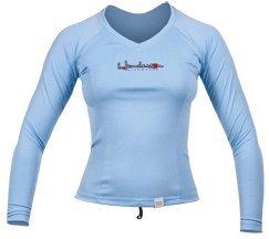 Henderson Women's Long Sleeve Watershirt (14, Sky)