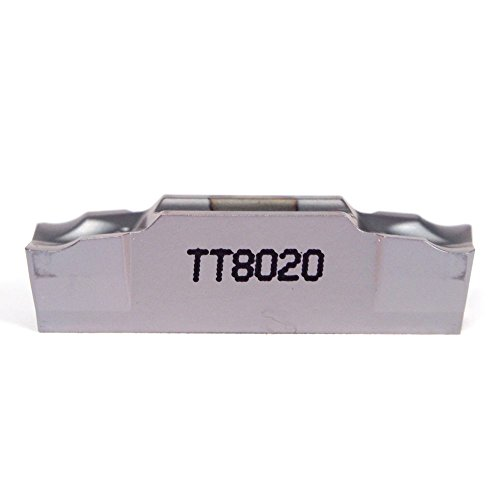 INGERSOLL Carbide Cut-Off Insert TDJ4-4L TT8020 (10 Pack) by Ingersoll