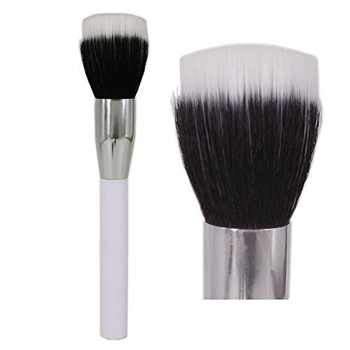 Face Brush Small Duo Fibre (vela.yue Duo Fibre Stippling Brush Multipurpose Face Powder Foundation Bronzer Makeup Brush)