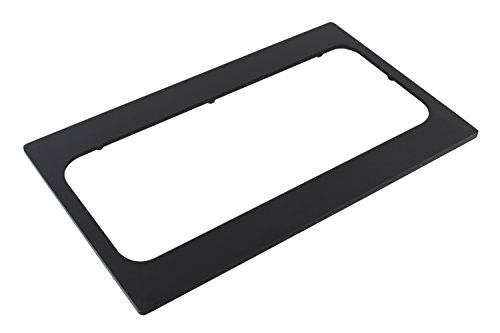 Bon Chef 52071BLK Bonstone EZ Fit Tile Cut for 1 Stainless Steel 19-5/8'' Space Saver Bowl (5223) Insert, 20-13/16'' Length x 12-3/4'' Width, Black by Bon Chef
