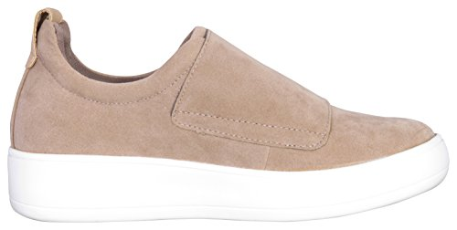 Strap Sneaker Taupe Fashion Low Glaze Women's Top 8wxqfAT5X
