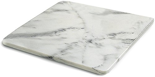 RSVP Marble Pastry Board, 18 x 18 Inch