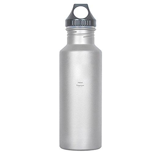 Keith 700ml Titanium Wasser Flasche Camping Outdoor Sport Bike Wasser Flasche Wasserkocher Bakteriostatisch Funktion Korrosionsbeständigkeit