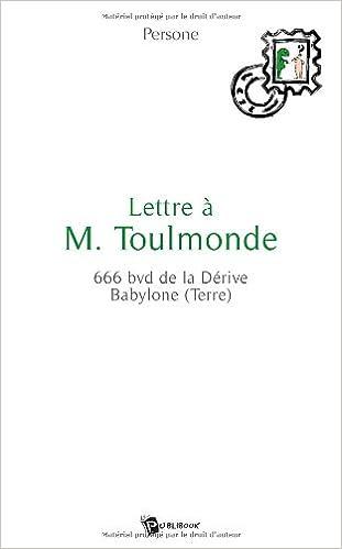 En ligne téléchargement Lettre a M. Toulemonde pdf, epub ebook