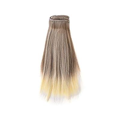 FTXJ_Toy Doll Hair,FTXJ 1PC Fashion 15X106Cm Wholesale Straight Hair Hair for DIY / BJD Wig Doll