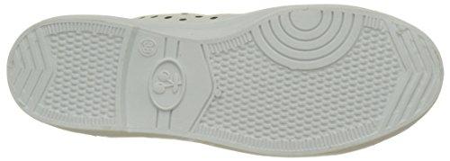 White Bianco Donna White Sneakers Dot Chocolate Dot Jack Schubar cqTP87WwaA