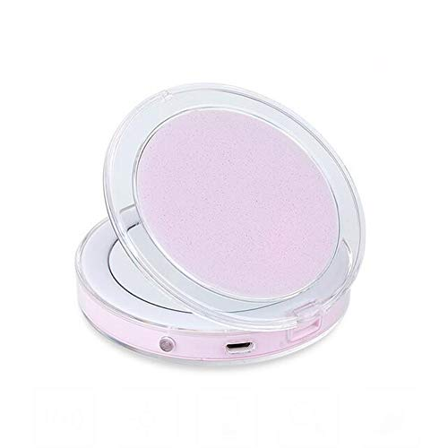 JL Handheld Folding Compact Mirrors Dual Sided 3 X & 1 X Magnifying 3.3...