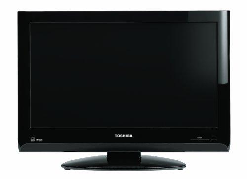 - Toshiba 19AV600U 19-Inch 720p Portable LCD HDTV, Black