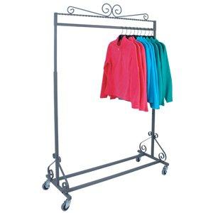 Boutique rolling rack]()