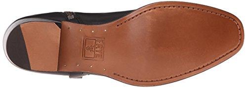 FRYE Womens Dara Short Harness Boot Black Smooth Polished Veg Leather X8zDQeBH
