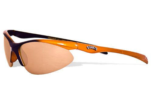 MLB San Francisco Giants Rookie Sunglasses with Bag, Black and Orange, - Sunglasses Kohl's