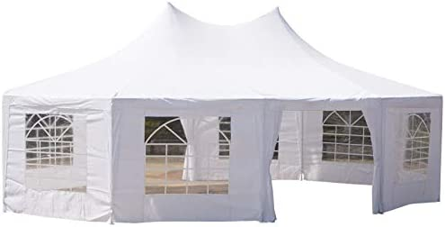 Outsunny 29 x20 Large 10-Wall Event Wedding Gazebo Canopy Tent