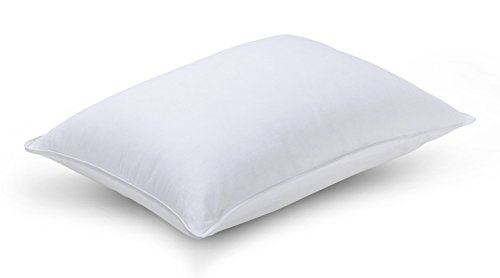 Luxuredown Goose Down Pillow, Medium Firm, Standard Size, White