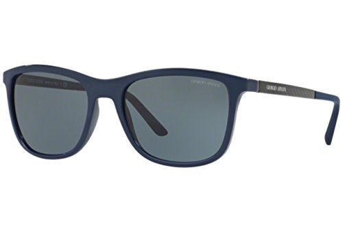 Giorgio Armani Men's AR8087-514587-56 Blue Square - Sunglasses Blue Giorgio Armani