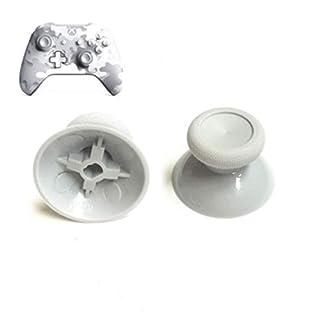 2Pcs Rocker 3D Analog Joystick Grip Cap Thumb Stick Grip Cap Thumbstick Cover Replacement for Xbox One Slim Xbox One X Xbox One Elite PS4 Controller