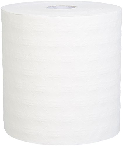 AmazonBasics Professional Hard Roll Towels, White, 800 Feet per Roll, 6 Rolls