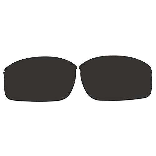 ACOMPATIBLE Replacement Lenses for Oakley Wiretap New (2013) Sunglasses OO4071 (Black - (Polarized Tap)
