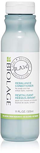 BIOLAGE R.A.W. Scalp Care Rebalance Conditioner for Scalp and Hair with Willow Bark and Rosemary, 11 fl. oz. Biolage Anti Dandruff Shampoo