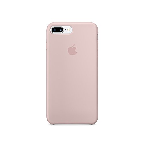 Original Cover - Optimal shield Soft Leather Apple Silicone Case Cover for Apple iPhone 7plus (5.5inch) Boxed- Retail Packaging (Pink) ¡