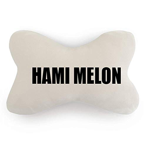 DIYthinker Hami Melon Fruit Name Foods Car Neck Pillow Headrest Support Cushion Pad