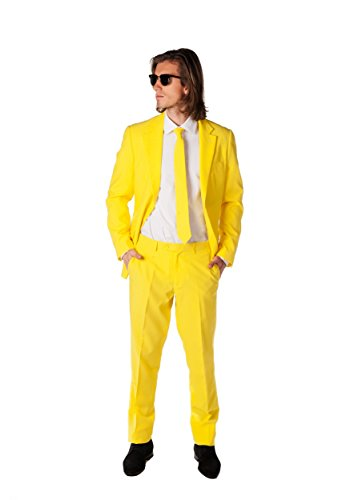 OppoSuits Yellow Fellow Suit Adult