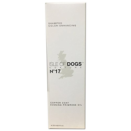 Isle of Dogs Coature No. 17 Copper Coat Evening Primrose Oil Dog Shampoo for brown dogs, 8.4 oz ()