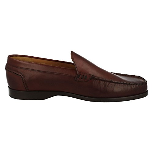 Leather US EU Moccasin UK Grenson 9 Size Size Shoes Cardiff Size 42 Brown Mens 8F wXpzqnT77