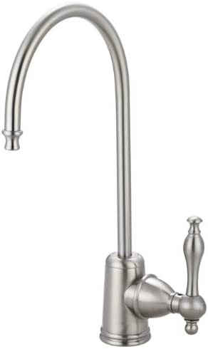 Kingston Brass Gourmetier KS7198NL Naples Single Handle Water Filtration Faucet, Brushed Nickel