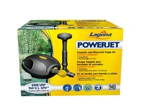 2000 Pond - Laguna PowerJet 960 Fountain/Waterfall Pump Kit for Ponds Up to 2000-Gallon