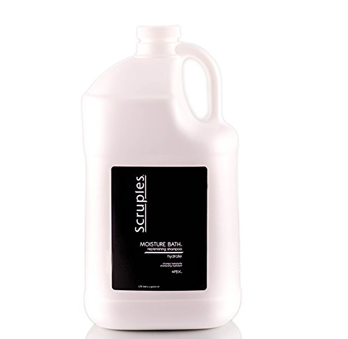 Scruples Moisture Bath - Moisture Replenishing Shampoo - 1 Gallon by Scruples